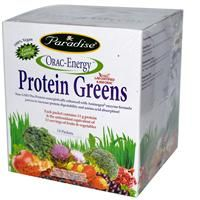 Paradise Herbs, ORAC-Energy, Protein Greens, 14 Packets