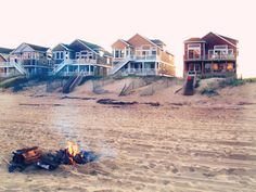 Have a fire on the beach. Check with the individual towns for rules and permits.