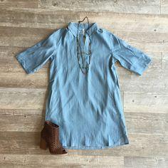 Classic Denim Dress