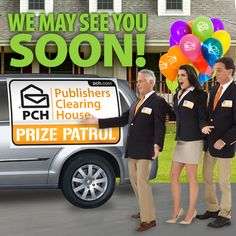 The #PrizePatrol will be on the road January 20, 2015 to award another $1 Million prize!