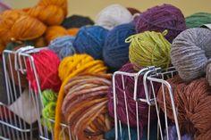pretty stash yarn