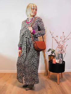 Jurk Devanshu African Leopard Sustainable Clothes, African Leopard