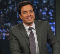 Gave Jimmy Fallon a high five after my husband was on his show :)