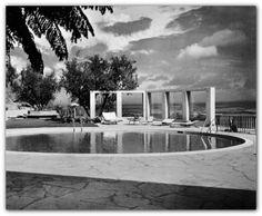 60s Thomas Church Gardens Mid Century Modern Eames Era Landscaping Design Ideas | eBay