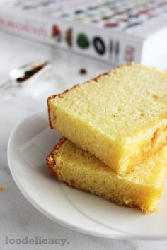 A simple and classic Nonya recipe for a very rich, moist and decadent butter cake with a light hint of vanilla flavour. (Adapted from source: 'The Best of Singapore Cooking' by Mrs Leong Yee Soo). Cake Cookies, Cupcake Cakes, Fruit Cakes, Cupcakes, Cake Recipes, Dessert Recipes, Banana Recipes, Donut Recipes, Lemon Custard