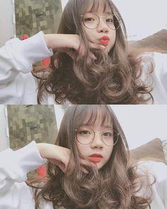 Ulzzang Hair, Ulzzang Korean Girl, Cute Korean Girl, Asian Girl, Girls Tumblrs, Cute Girls, Cool Girl, Uzzlang Girl, Girls Selfies