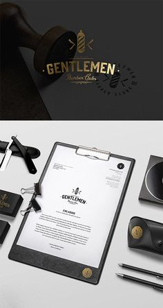 Barber Branding by Daniel Klatsidis
