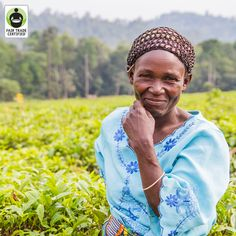 With #FairTrade, Tuhaise no longer has to worry about medical care for her 9 #children. Show your support for Tuhaise, a strong woman (and mother!) of Fair Trade! #womensempowerment #women #healthcare