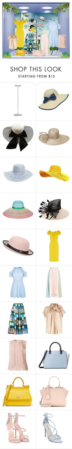 """""""Spring Retail Window"""" by barbarapoole ❤ liked on Polyvore featuring HAY, WithChic, Whiteley, Hinge, Missoni, Pilot, Dolce&Gabbana, New Look, Peter Pilotto and L.K.Bennett"""