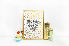 Typography Art Print Colorful Confetti by BlueWavesPrints on Etsy