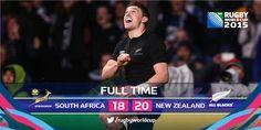 Rugby World Cup 2015 Semi-Finals. All Blacks NZ vs. Springboks RSA