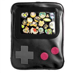 Stami Studios is a small studio designing and creating cute things. Kawaii Bags, Things To Buy, Stuff To Buy, Game Boy, Designer Backpacks, Girls Bags, Cute Bags, Bago, Nintendo