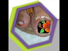 YouTube Toe Nails, Pedicure, Simple Designs, Nail Designs, Nail Art, 3d, Youtube, Nail Art Designs, Black Almond Nails