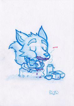 Podgy Panda - Daily Doodles 1-10 (10 drawings!)