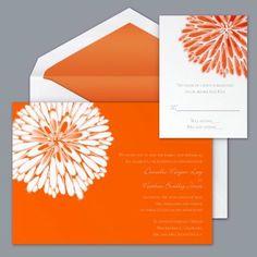 summer themed wedding invitations | orange wedding invitations source photos weddingbycolor nocookie com