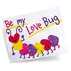 Carrot-Stamp Caterpillar Valentine - -  Pinned by @PediaStaff – Please Visit http://ht.ly/63sNt for all our pediatric therapy pins