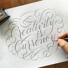 Wonderful script by @kennycoil - #typegang - typegang.com | typegang.com #typegang #typography