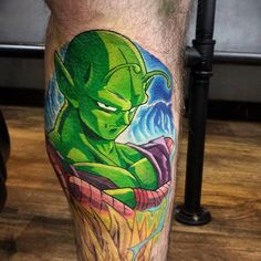 Piccolo tattoo done by Will Walker