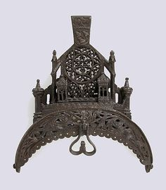 Iron Purse Frame - French - 15th-16th century