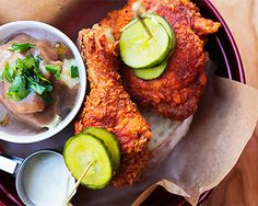 Northbridge restaurant Meat Candy is dishing out some finger lickin' fried chicken, and it's no surprise considering Ben Atkinson—the culinary genius and former chef at The Old Crow and Cantina 663—is at the helm! Apart from the fried chicken, you can expect plenty of smoked meats and a heap of good booze—we've got a thing for the bloody mary's made with house smoked tomato juice.