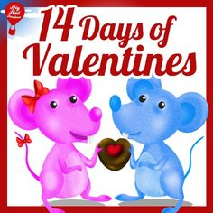 14 Days of Valentines (Read-Out-Loud Valentine's Children's Book) (Big Red Balloon Book
