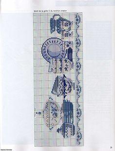 Cross Stitch Geometric, Modern Cross Stitch Patterns, Cross Stitch Designs, Delft, Cross Stitching, Cross Stitch Embroidery, Cross Stitch Numbers, Cross Stitch Kitchen, Cross Stitch Pictures