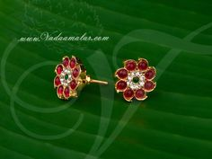 a5292d98e Gold plated Temple Jewellery Ear stud South India Earrings Buy Online