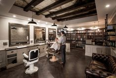 This was a project completed in early 2016 for the design of a new Sydney barbershop. Benicky & Sons is an authentic and traditional barbershop, aiming to provide a unique experience for men, in a comfortable and relatable environment. I also developed the Benicky & Sons Branding, signage, promotional material and website. Being involved in all areas of design regarding the business allowed for Benicky & Sons to achieve a totally clear and coherent identity.