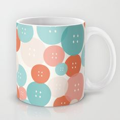 Button mania Mug