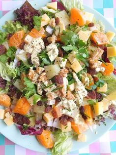 Chicory salad with mandarin, pineapple, curry and cheese - Delicious Dinner Recipes, Lunch Recipes, Summer Recipes, Vegetarian Recipes, Healthy Recipes, Salad Dressing Recipes, Salad Recipes, Quiche, Dairy Free Diet