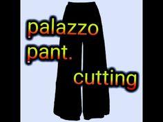Sewing stitches pajama pants ideas for 2019 Blouse Neck Patterns, Dress Neck Designs, Blouse Designs, Plazzo Pants, Salwar Pants, Sewing Pants, Sewing Clothes, Stitch Pajamas, Smocking Patterns