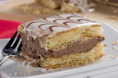 Ready for flaky layers of pastry overstuffed with a decadent chocolate filling? Good, because our Chocolate Napoleons are so delicious that you just might need to make more than one per person!
