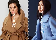 h&m vs. Carven, Rain Jacket, Windbreaker, Jackets, Fashion, Dress, Down Jackets, Moda, Fashion Styles