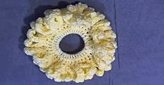 Crochet Newport Stitch Pattern : Wear Flowers In Your Hair With This Flower Petal Scrunchie! Starting ...