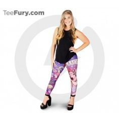 """About These Leggings:- Made in the USA- Model is wearing size Medium- Height - 5'5""""   Waist - 26""""   Hip - 33"""" All sales are final. Leggings Size Chart"""