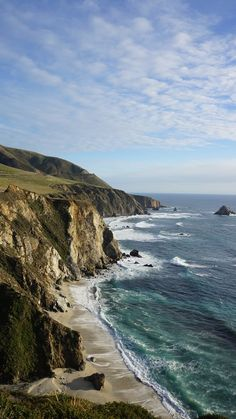 California Cliffs - Carmel, California - My dream trip.travelling down the California coast from top to bottom.Ended up doing Carmel to Cambria Carmel California, California Coast, California Travel, Travel Oklahoma, Northern California, West Coast Usa, West Usa, Oh The Places You'll Go, Places To Travel