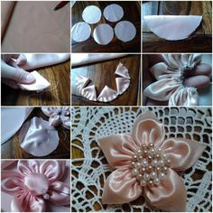 How To Make Fabric Five Petals Flowers step by step DIY tutorial instructions thumb 512x512 How To Make Fabric Five Petals Flowers step by s...