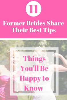 Are you new to the bridal world? read these bridal tips from 11 former brides. things they wish they knew before the wedding - just for you. Budget Wedding, Wedding Tips, Diy Wedding, Wedding Events, Dream Wedding, Weddings, Wedding Blog, Wedding Hacks, Spring Wedding