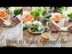 How to Roll Fresh Vietnamese Spring Rolls – Photo Tutorial & Recipes – White on Rice Couple