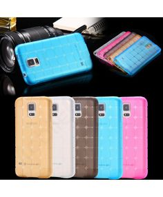 New Cube Shockproof Rubber Gel Phone Back Case Cover For Samsung Galaxy S5 / S5 Neo 66245339872583