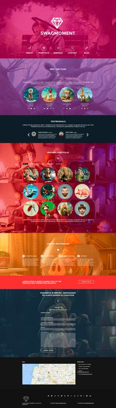 SwagMoment Parallax WordPress Theme http://themeforest.net/item/swagmoment-parallax-wordpress-theme/5463837?ref=wpaw #web #design #wordpress
