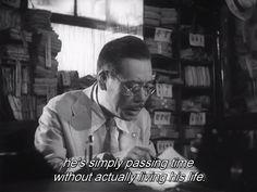 """""""Ikiru"""" (To live), Akira Kurosawa. 1952."""