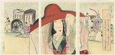 Lady Sei Shonagon by Kiyochika (1847 - 1915)