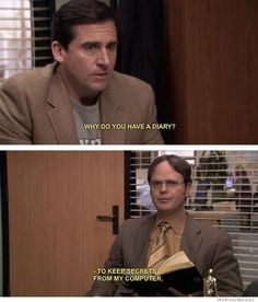 Dwight was right all along! #NSA