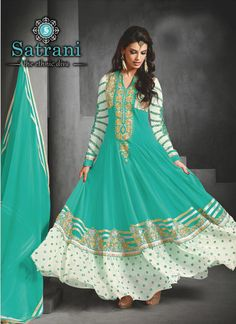 Bedazzling Anarkali Suits For Ethnic Collection(232D)  Please visit below link http://www.satrani.com/salwar-suits&catalog=586  For more queries,  email id: inquiry@satrani.com Contact no.: 09737746888(whats app available)