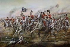 Royal Scot Greys at Waterloo