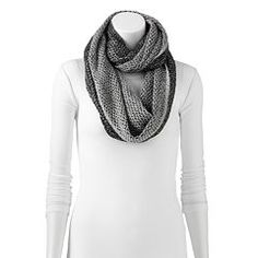 Apt. 9® Two-Tone Reversible Infinity Scarf