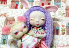 needle felted doll Alice | Naroo