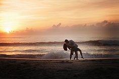 amazing beach portrait