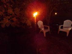 Antorcha con citronela: Iluminación nocturna